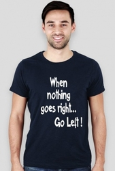 Koszulka Go Left!