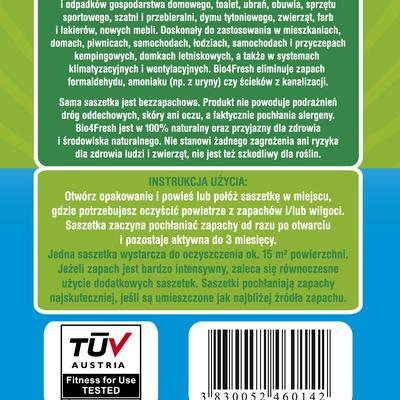 Bio4Fresh! Naturalny oczyszczacz powietrza. Bezzapachowy i 100% naturalny!