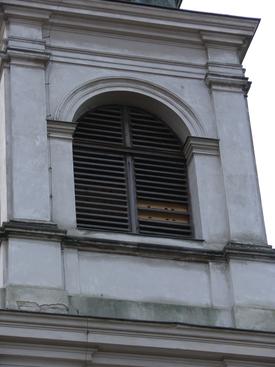 Budki dla jerzyków w wieży kościelnej ussuri