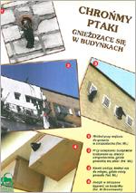 """Ulotka """"Ptaki w budynkach"""" (wydanie I)"""