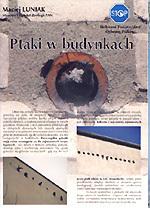 """Ulotka """"Ptaki w budynkach"""" (wydanie III)"""