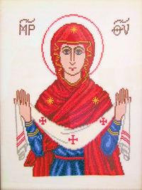 Ikony autorstwa pani Agafii Gryćko z Wałcza