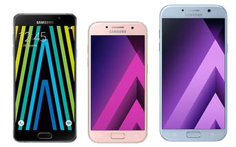 Samsung Galaxy - A, A 2016, A 2017 - porównanie