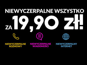 Aero2 a2mobile - no limit za 19,90 zł