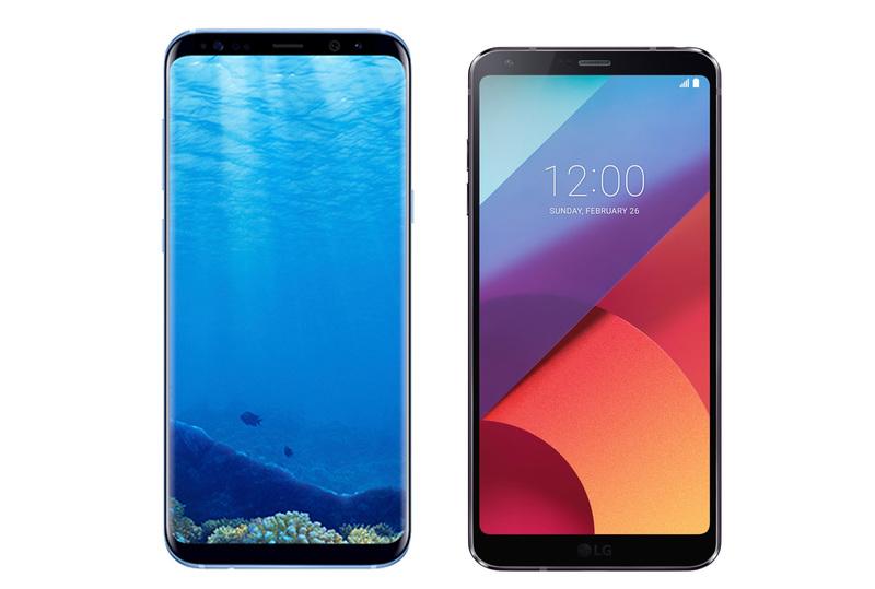 Samsung Galaxy S8+ vs LG G6