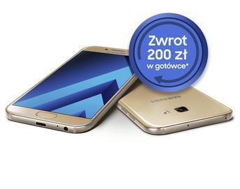Po zakupie Samsunga Galaxy A5 2017 odzyskamy 200 zł w gotówce