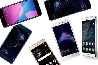 Huawei P10 vs P10 Lite vs P9 vs P9 Lite 2017 vs P9 Lite Mini vs P9 Lite - porównanie (wideo)