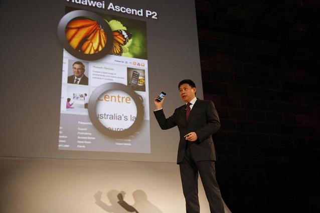 Huawei Ascend P2 - premiera