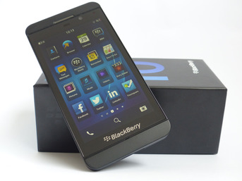 Test BlackBerry Z10