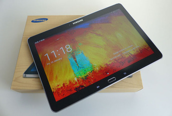 Test Samsung Galaxy Note 10.1 2014 edition