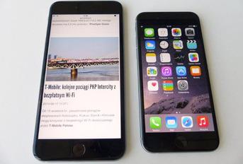 Galeria zdjęć smartfonów iPhone 6 i iPhone 6 Plus