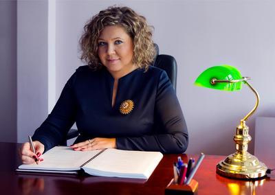 Prezes UKE - Magdalena Gaj