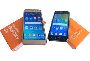Test porównawczy Samsungów Galaxy J1 i Galaxy J5