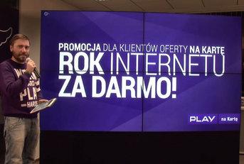Rok Internetu za darmo w PLAY na kartę
