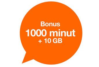 1000 minut i 10 GB za zarejestrowanie numeru w Orange