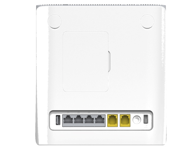 press down zte router mf286 has become