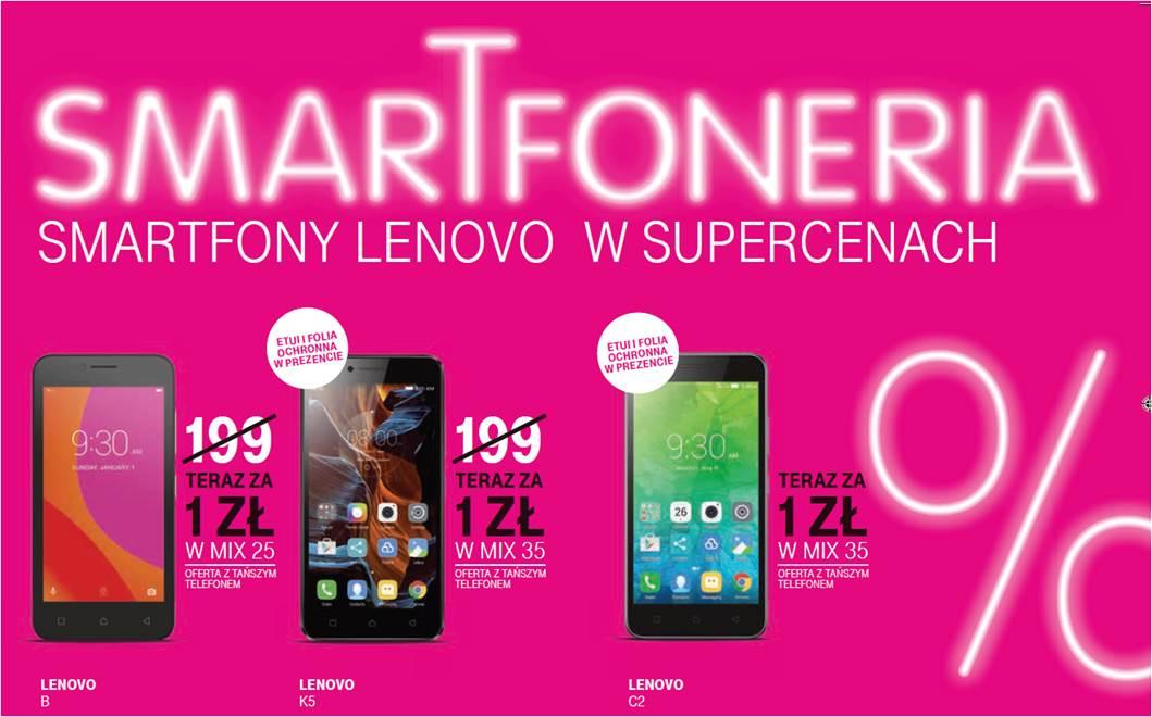T-Mobile: niższe ceny smartfonów Lenovo w ofercie Mix