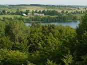 Wschodni brzeg jeziora Hańcza- wieś Błaskowizna