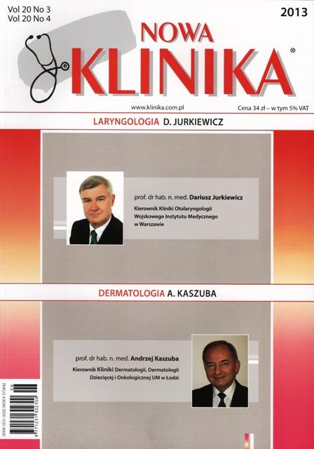 KN 2013/3-4 - Laryngologia, Dermatologia