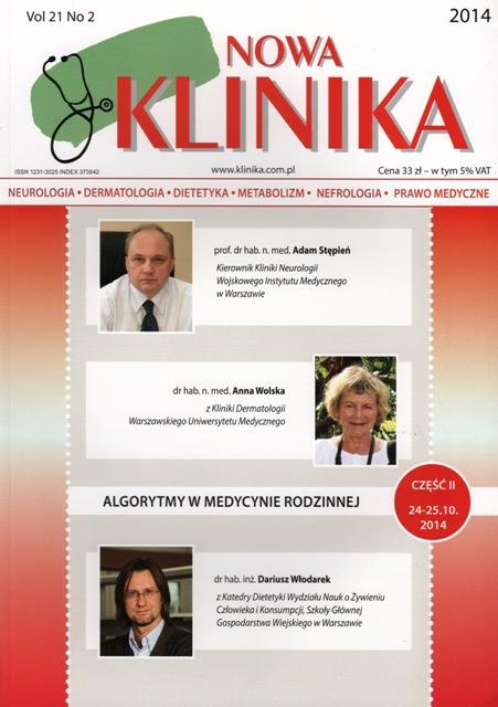KN 2014/02 - Neurologia, Dermatologia, Leczenie Żywieniowe, Dietetyka, Prawo Medyczne
