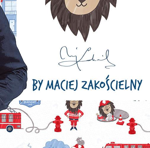 Dzielny Lew by Maciej Zakościelny