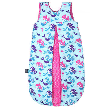"SLEEPING BAG ""M"" - PINKY MERMAID"