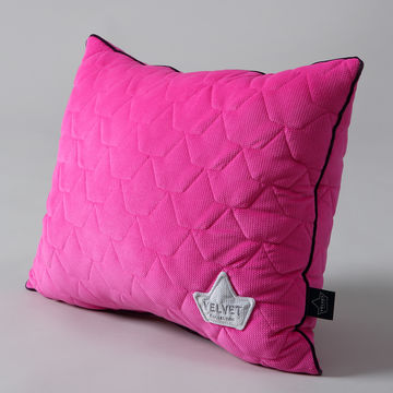 VELVET COLLECTION - BIG PILLOW - FUCHSIA