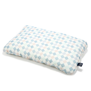 BAMBOO BED PILLOW - 40x60cm - LA MILLOU FAMILY CHESSBOARD