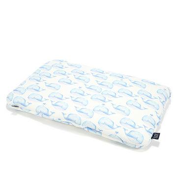 BAMBOO BED PILLOW - 40x60cm - WHITE MOBY (Z DROBNĄ SKAZĄ)