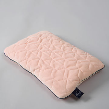 VELVET COLLECTION – MID PILLOW – POWDER PINK BRIGHT