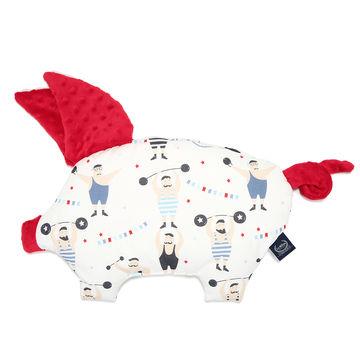 PODUSIA SLEEPY PIG  - CIRCUS STRONGMAN - RED