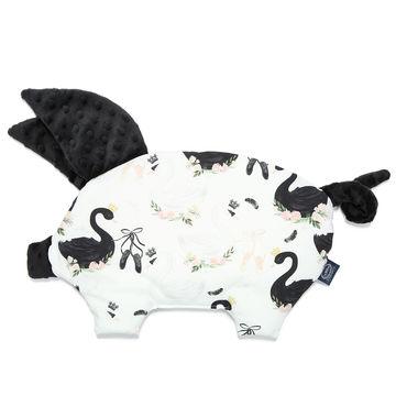 PODUSIA SLEEPY PIG - MOONLIGHT SWAN - BLACK