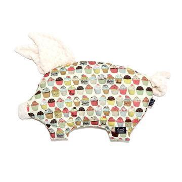 PODUSIA SLEEPY PIG - CUPCAKES - ECRU