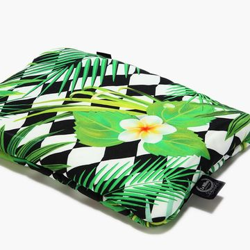 BABY BAMBOO PILLOW - JUNGLE LEAVES