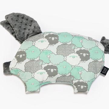 PODUSIA SLEEPY PIG - MINT SHEEP FAMILY - GREY