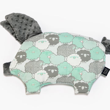 PODUSIA SLEEPY PIG - MINT SHEEP FAMILY - GREY
