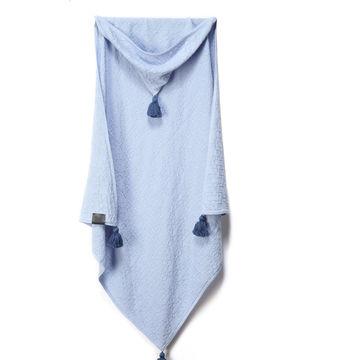 100% BAMBOO TENDER BLANKET - BLUE LAGOON