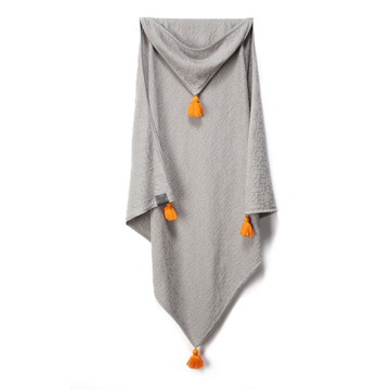 100% BAMBOO TENDER BLANKET - MR GREY