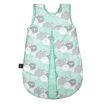 """SLEEPING BAG """"M"""" - MINT SHEEP FAMILY & SHEEP FAMILY STRIPS - LIMITTED EDITION"""