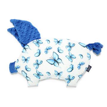 PODUSIA SLEEPY PIG - MOTYLEM JESTEM - ELECTRIC BLUE