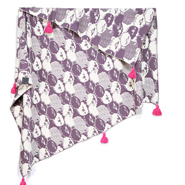 MR. BIG COTTON TENDER BLANKET - PINKY LAWENDER SHEEP - LIMITTED EDITION