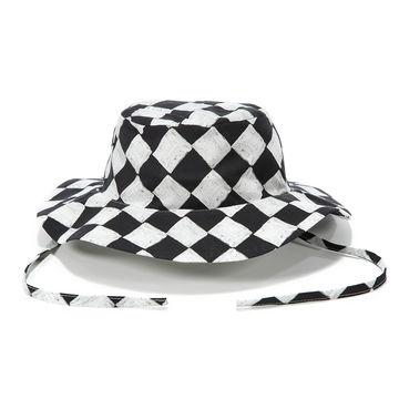 SAFARI HAT - FOLLOW ME CHESSBOARD