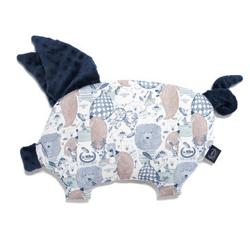 PODUSIA SLEEPY PIG - LA MILLOU FAMILY - NAVY