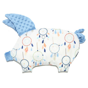 PODUSIA SLEEPY PIG - DREAMCATCHER WHITE - SKY