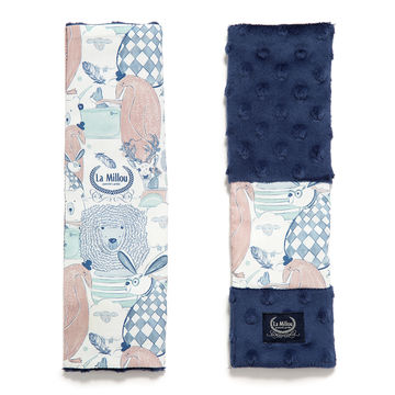 SEATBELT COVER - LA MILLOU FAMILY - NAVY