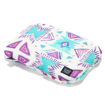 BABY BAMBOO PILLOW - BOHO BERRY SKY