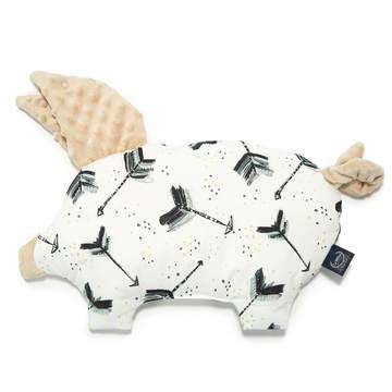 PODUSIA SLEEPY PIG - BOHO ROYAL ARROWS - LATTE