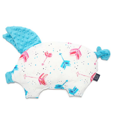 PODUSIA SLEEPY PIG - BOHO NEON ARROWS - TEAL