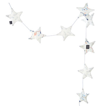 GIRLANDA STARDUST - DREAMCATCHER WHITE & PLUME CATCHER WHITE