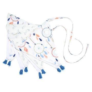GIRLANDA CIRCUS - DREAM CATCHER WHITE  & PLUM CATCHER WHITE